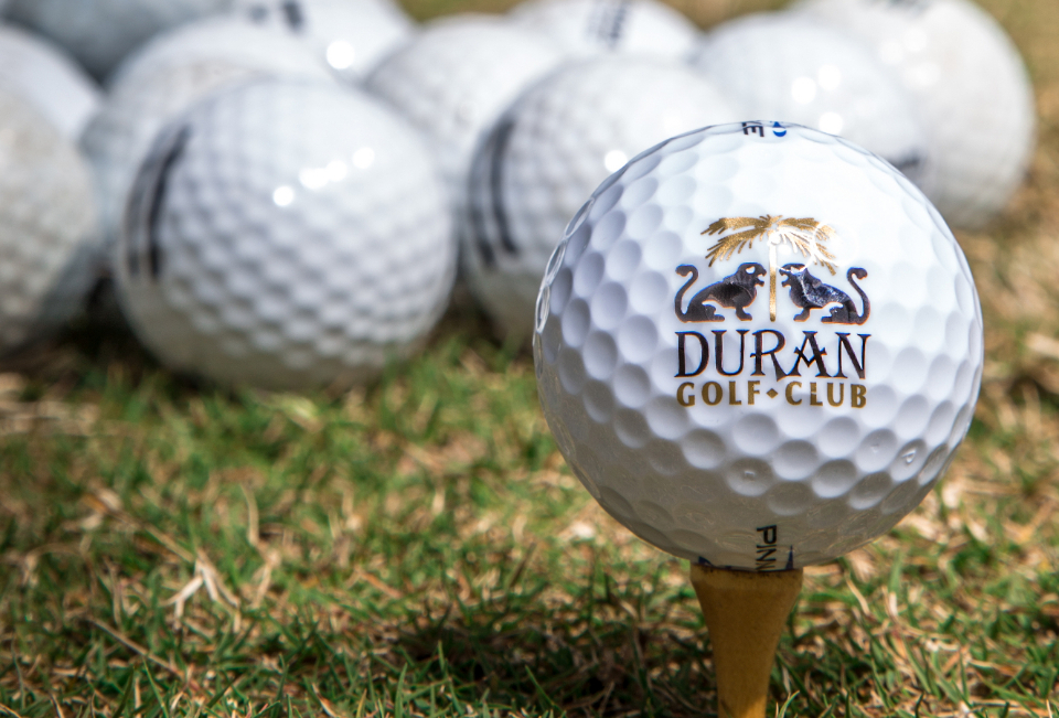 A bundle of Duran Golf Club golf balls